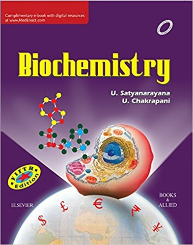BIOCHEMISTRY BY SATYANARAYAN
