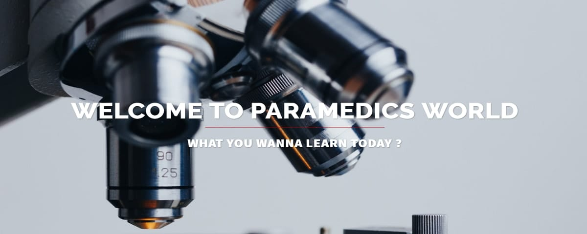 PARAMEDICS WORLD HOME SLIDER 1