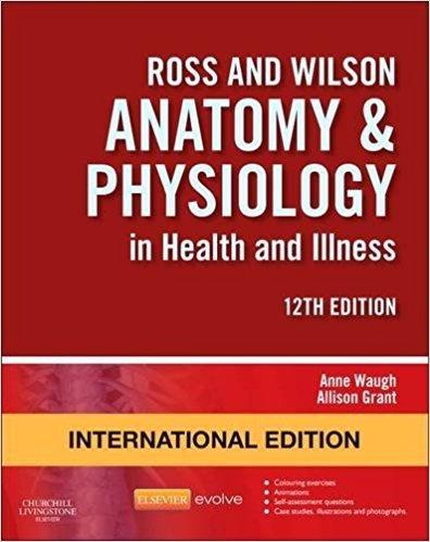 ROSS & WILSON ANATOMY AD PHYSIOLOGY