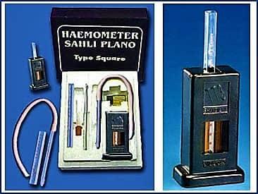 sahli's apparatus - estimation of hemoglobin by sahli's method - sahli's hemoglobinometer