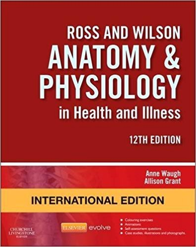 ROSS & WILSON ANATOMY AD PHYSIOLOGY