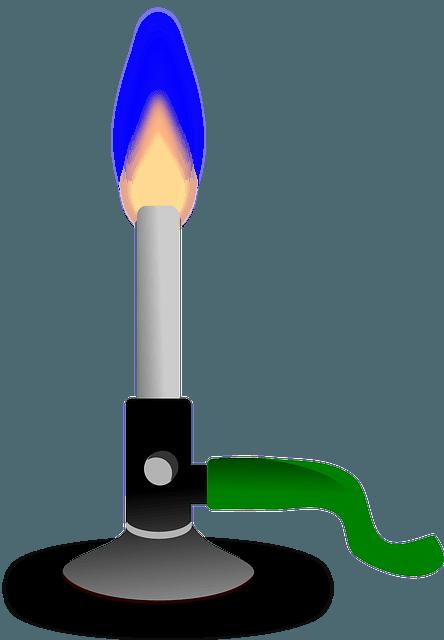 bunsen burner - laboratory equipment - laboratory instrument