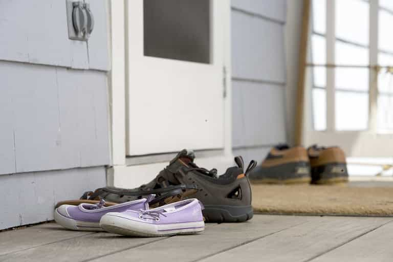 Your Guide to Keeping Your Household Healthy and Safe - keep your shoes outside home