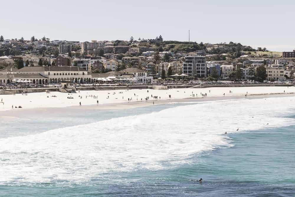 Best Beaches in the World to Party in your 20s - Bondi Beach, Sydney Australia