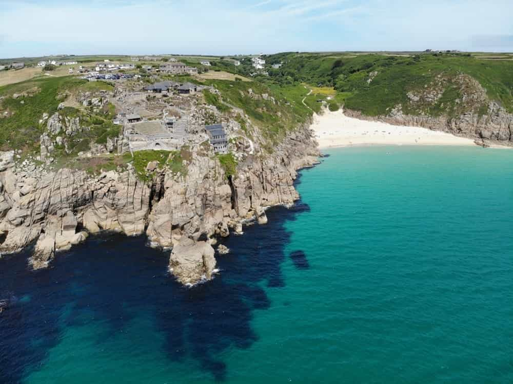 Best Beaches in the World to Party in your 20s Cornwall Beach England